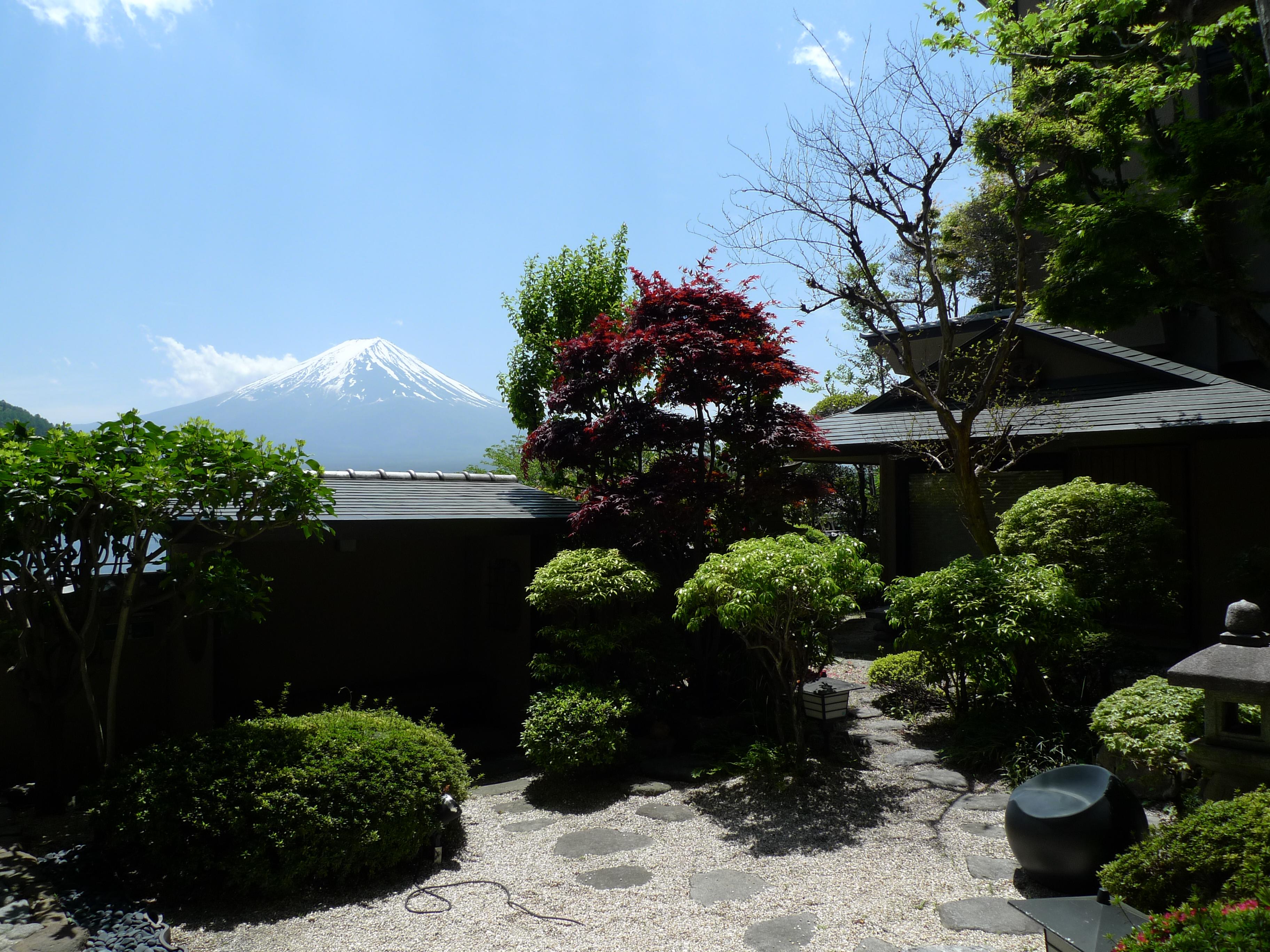 うぶや_富士山が見える宿